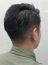 外国人風 刈り上げバーバーショート(髪型メンズ)