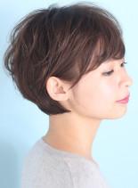 大人のゆるふわ美シルエット☆(髪型ショートヘア)