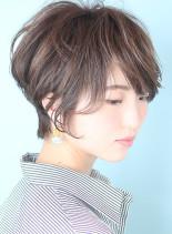 【30代40代】春ショート(髪型ショートヘア)