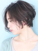春色大人シルエットショートボブ☆bob(髪型ショートヘア)
