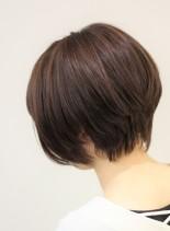 大人かわいい★人気ショートボブ★(髪型ショートヘア)
