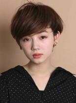 美シルエット☆大人のショートヘア(髪型ショートヘア)