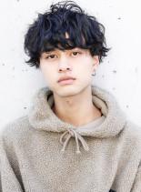 ★セミウェットスパイラルマットマッシュ★(髪型メンズ)
