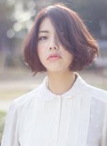 スタイリッシュボブ(髪型ショートヘア)