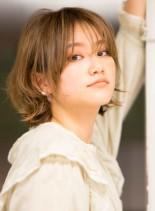 外国人風マッシュレイヤーショートヘア(髪型ショートヘア)