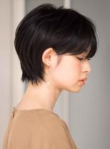 骨格が綺麗に見える大人ショート(髪型ショートヘア)