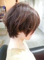 カジュアルハンサムショート(髪型ショートヘア)