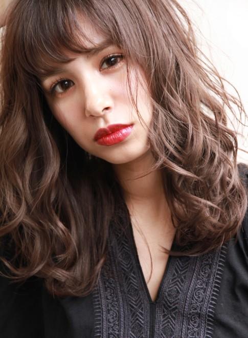 【春夏トレンド】透け感セミロング☆(髪型セミロング)(ビューティーナビ