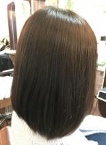 ULUボブ(髪型ミディアム)