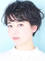 春夏トレンド☆大人の小顔ショートヘア(髪型ショートヘア)