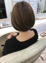 ナチュラルボブ(髪型ボブ)