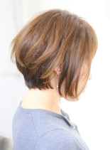 レイヤーボブ(髪型ショートヘア)