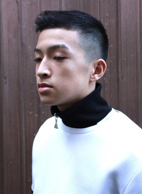 男 髪型 ベリー ショート