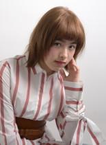 レイヤーロブ(髪型ボブ)