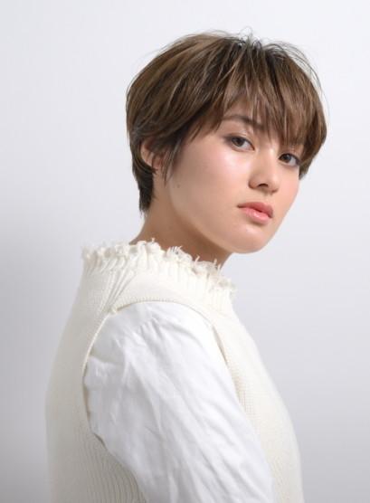 3,40代へ☆後ろ姿も綺麗な大人ショート(髪型ショートヘア)