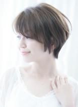 ☆小顔ショート☆ひし形黄金比美シルエット(髪型ショートヘア)