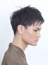大人のシンプルショート(髪型メンズ)