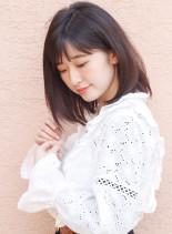 大人可愛いミディアムスタイル☆(髪型ミディアム)