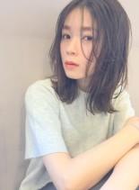 大人きれいなおしゃれミディ(髪型ミディアム)