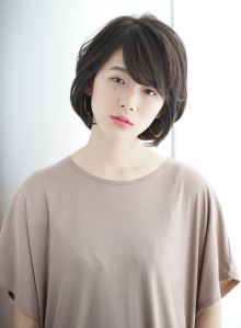 【30代40代】エレガントボブ(ビューティーナビ)