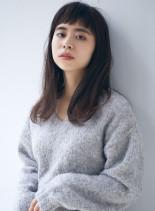 大人可愛い☆ショートバング(髪型セミロング)