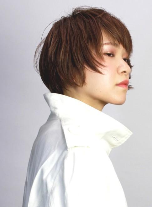 個性的な大人かっこいいの髪型(髪型ショートヘア)(ビューティーナビ)
