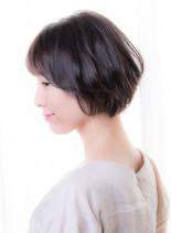 大人リラックスショート(髪型ショートヘア)