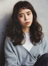 愛されショートバング☆(髪型セミロング)