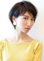 オトナ女子ためのショートボブ(髪型ショートヘア)
