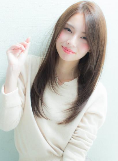 【谷 賢二】大人さらさらストレート(髪型ロング)