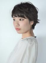 大人スウィートショート(髪型ショートヘア)