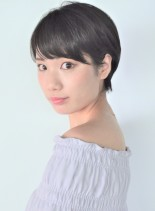 大人フレンチショート(髪型ショートヘア)