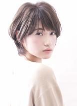 ☆大人のショートレイヤー☆(髪型ショートヘア)