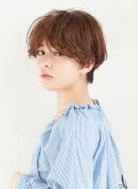 カジュアルなクールショートヘア(髪型ショートヘア)