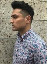 プレジデンシャル・アメリカンバーバーヘア(髪型メンズ)