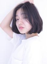アンニュイボブ(髪型ボブ)