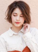 エアリーボブスタイル☆(髪型ボブ)