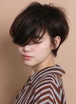 辺見えみり風☆奥行きのあるショートヘア(髪型ショートヘア)