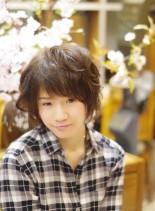 無造作ショートボブ♪(髪型ショートヘア)