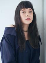 さりげなくオシャレ★インナーハイライト(髪型ロング)