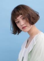 フレンチミニボブ(髪型ボブ)