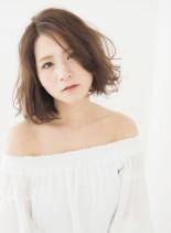 ★小顔×ふわミディ★(髪型ミディアム)
