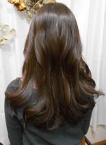 ゆる巻き×8トーングレイ系(髪型ロング)