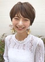 愛され【HAPPYショート】新垣結衣風(髪型ショートヘア)
