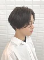 ボーイッシュになりすぎないラフショート(髪型ショートヘア)
