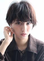 ☆大人のクールマッシュショート☆(髪型ショートヘア)