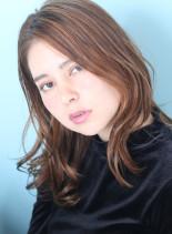 色っぽい大人セミロング☆(髪型セミロング)
