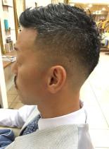ビジネスマン髪型で清潔感UPメンズカット(髪型メンズ)