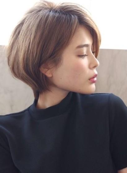 ☆大人のスタイリング簡単ショートボブ☆(髪型ショートヘア)