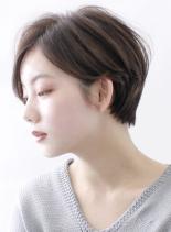 ☆大人のシルエットの綺麗なショートヘア☆(髪型ショートヘア)